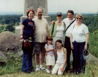 with the Randalls on Little Round Top