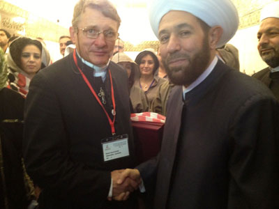 The Grand Mufti of Syria - Dr Ahmad Badr Al-Din Hassoun
