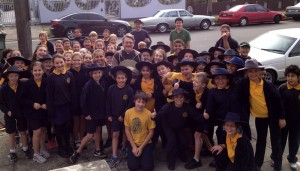 students from Petersham Public School