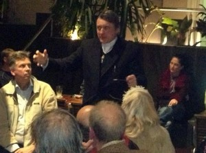 2013 - Addressing a gathering of the Wikileaks Party faithful
