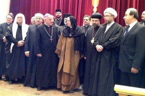 2013 - a great night of prayer for Syria at the Syrian Orthodox Cathedral in Lidcome