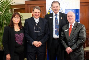 2013 - guest speaker at the Sydney Executive Lions Club