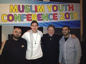 2013 - it was a great privilege to be invited to address the Sydney Muslim Youth Conference