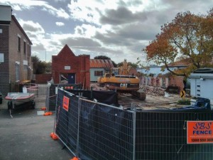 2013 - our once-mighty Youth Centre has now been levelled to the ground
