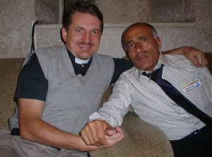 Morde Vaunu and me in 2004