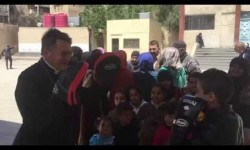 Boxing with the kids of Yarmouk (1)