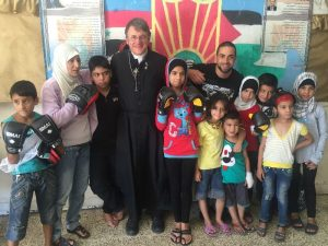 Back with the kids of Yarmouk