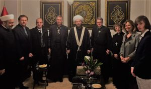 our delegation meets Dr Hassoun - the Grand Mufti of Syria