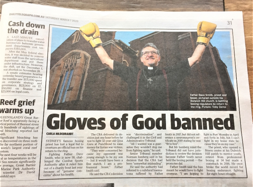 Gloves of God banned