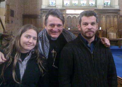 Sahar Vardi and Micha Kurz come to Holy Trinity