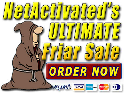 Check out the Friar Sale