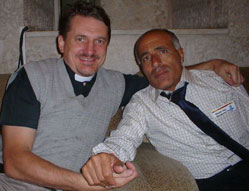 Morde Vanunu and me after his release in April 2004