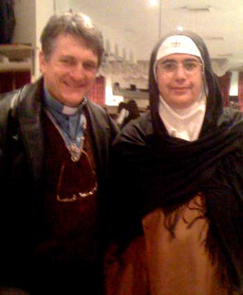 Father Dave and Mother Agnes