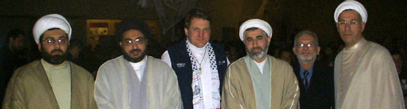 Fr Dave with Sheiks 2006