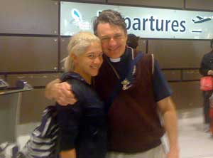 Veronica at Sydney Airport