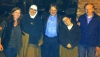 Mother Agnes and Sister Carmel from Homs and Al Lonergan from Ireland